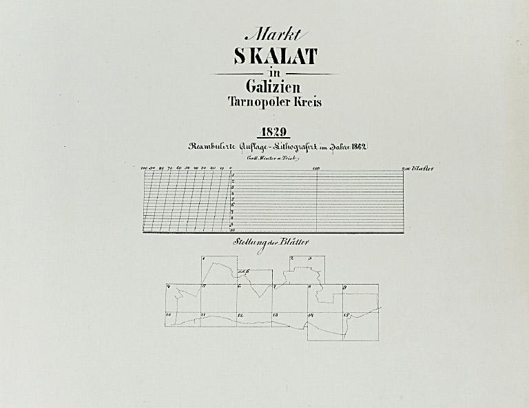1829_1862 Markt Skalat in Galizien Tarnopoler Kreis LowRes