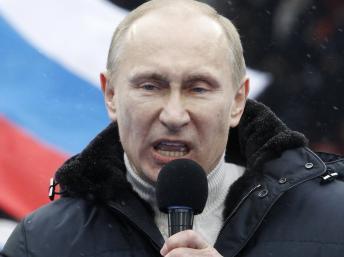 Путин выступил с речью в Севастополе 9 мая