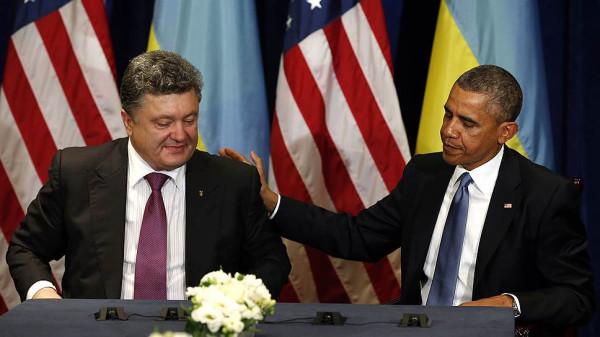 Встреча Обамы с Петром Порошенко