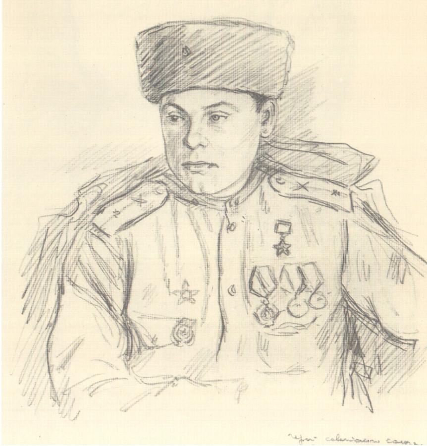 рисунки карандашом солдат вов сжато описать