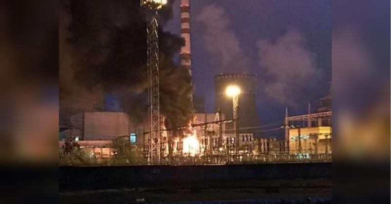 Пожар на Ровенской АЭС