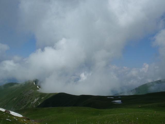 Над Чистоганом клубятся облака
