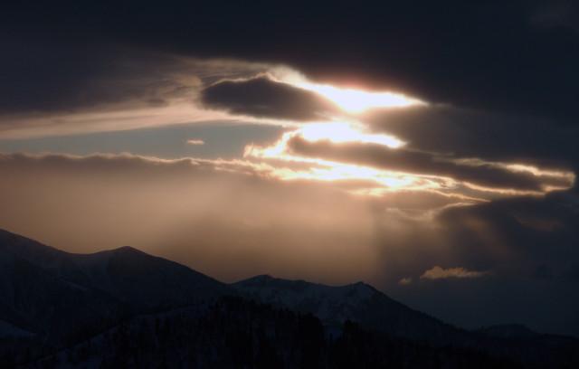 Закат над Пшекишем