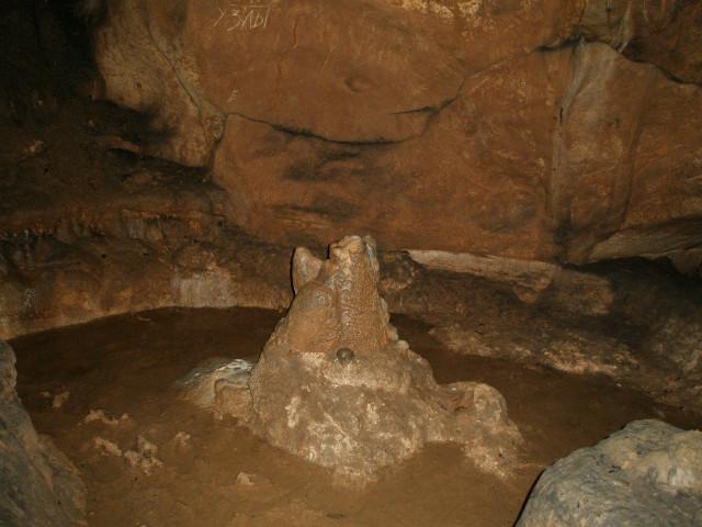 Пещерное озерцо (фото 2008г)