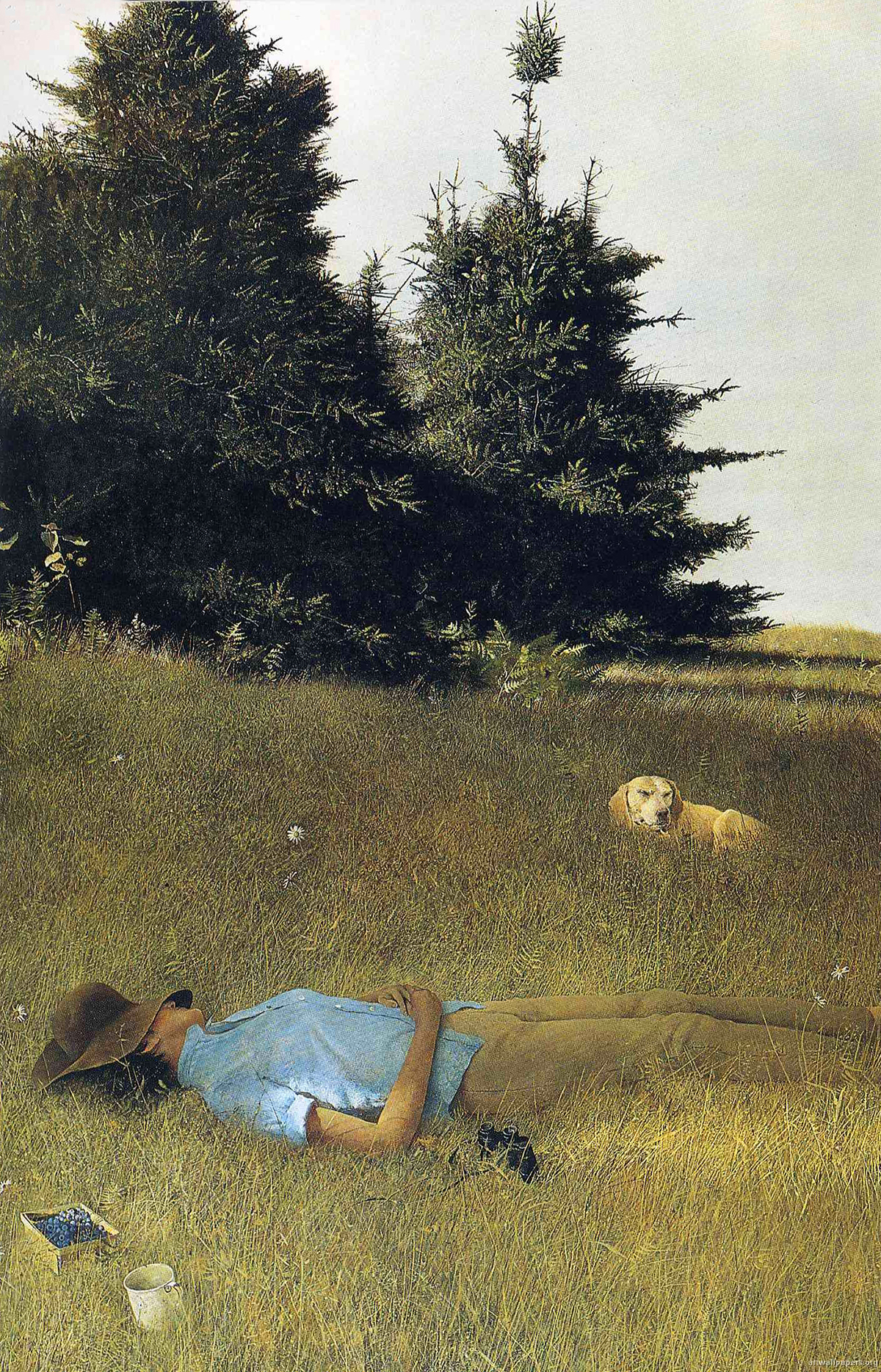 Distant-Thunder-by-Andrew-Wyeth-1961