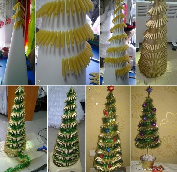 Pasta-Christmas-tree-585x569