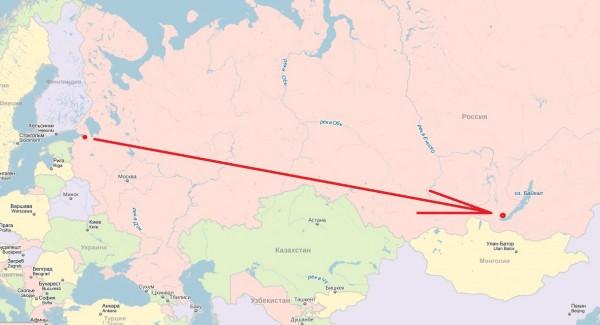 Спб-Иркутск