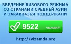 Сбор подписей за введения визового режима со странами Средней Азии и Закавказья - Визам - ДА!