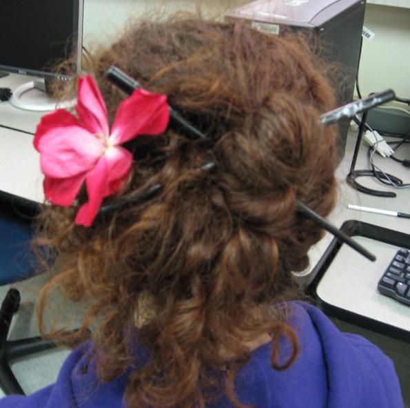 hair up pretty