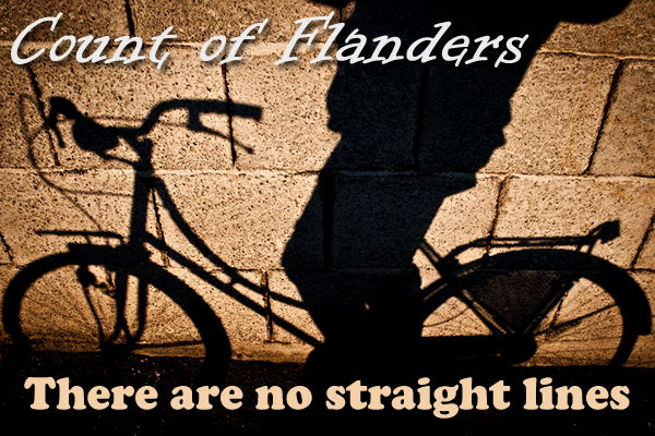 Count of Flanders - There are no straight lines