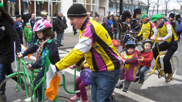 cycle for st. patrick