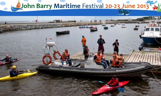 JohnBarryMaritimeFestival2013