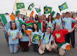 Irish pilgrims in Rio 2