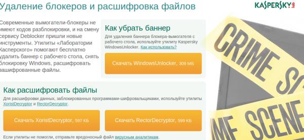 Kaspersky: Борьба с Trojan Ransom