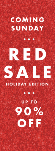 RedSale: Holiday Edition. Скидки до 90%