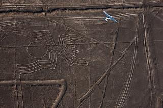 Пустыня Наска, рисунки геоглифы