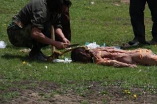 Тибетские похороны