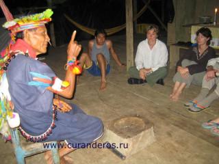 курандеро, аяуаска, яге, шаманы