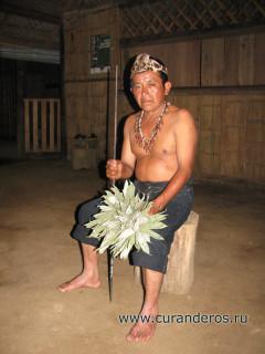 шаман племени кичуа