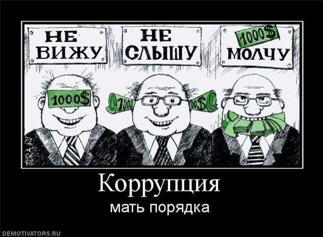 Коррупция. Освоение бюджетных средств