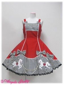 Angelic Pretty Carnival Wappen JSK Red