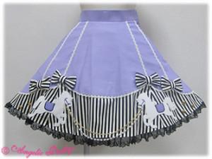 Angelic Pretty Carnival Wappen Skirt Lavender