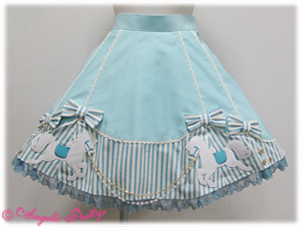 Angelic Pretty Carnival Wappen Skirt Mint