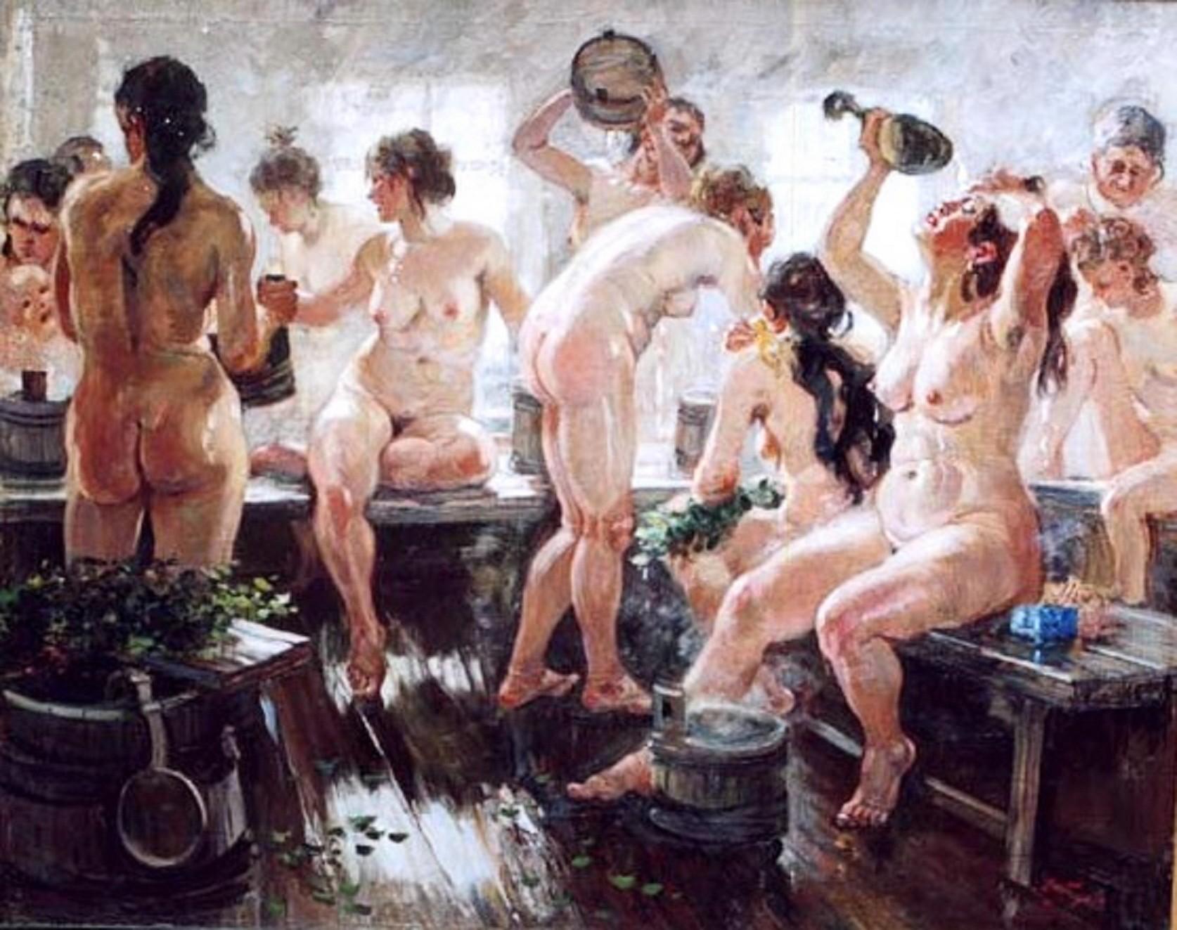 12 основных правил поведения в бане!