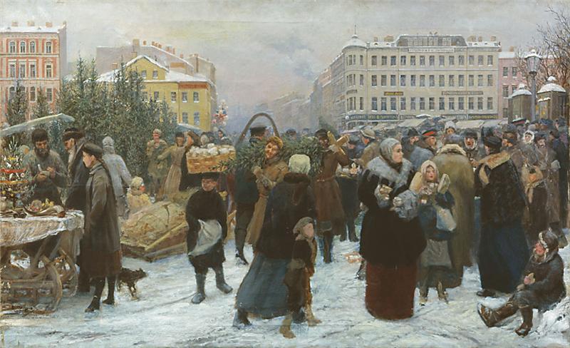 К Маковский елочный торг
