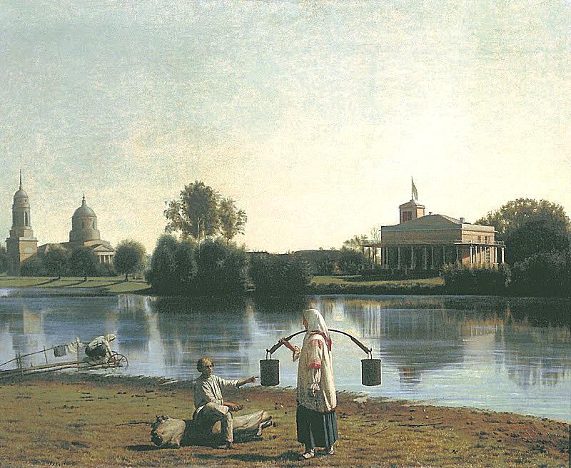 Вид на усадьбу Спасское Тамбовской губернии 1840-е_NEW_NEW
