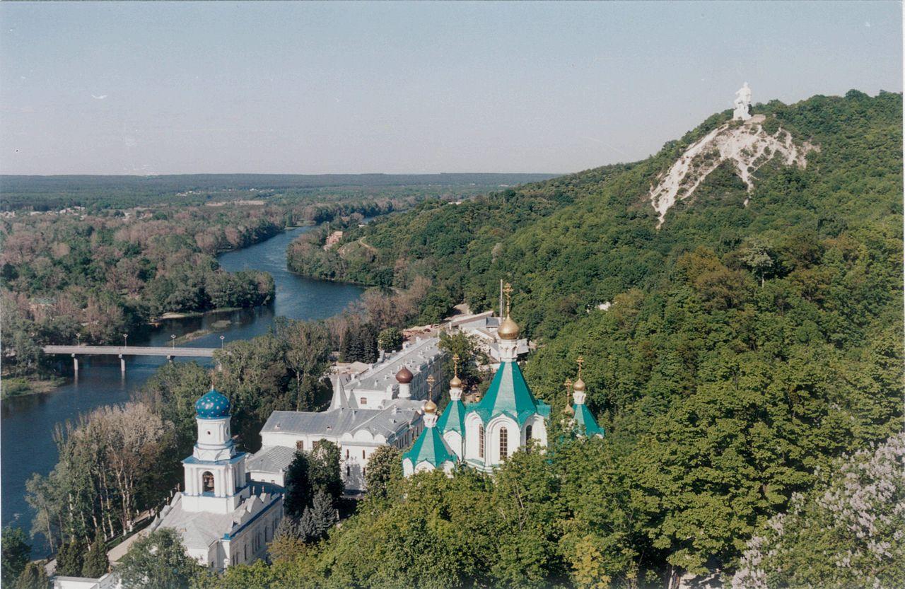 Северский_Донец_и_Святогорская_Лавра._2006