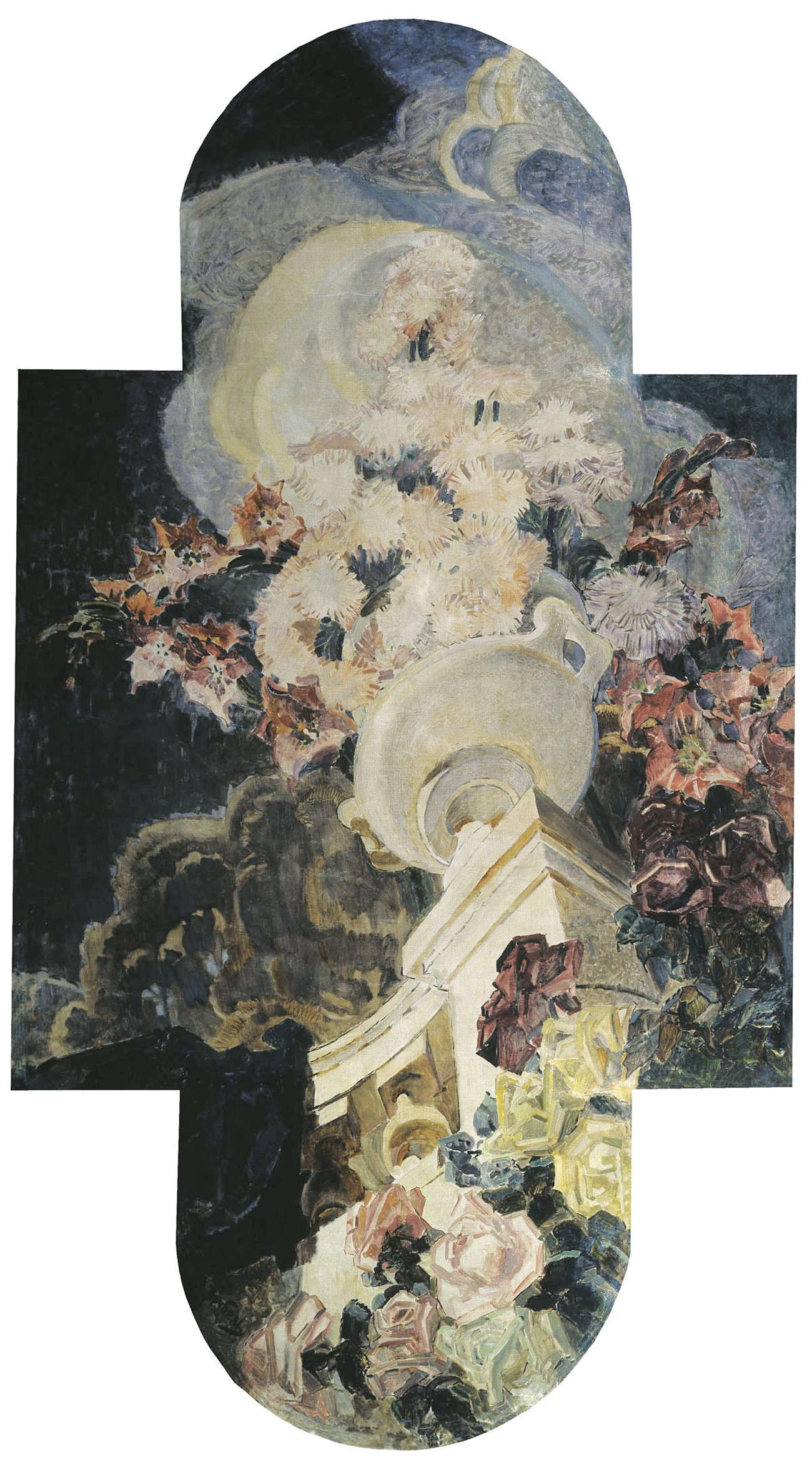 chrysanthemumsврубель