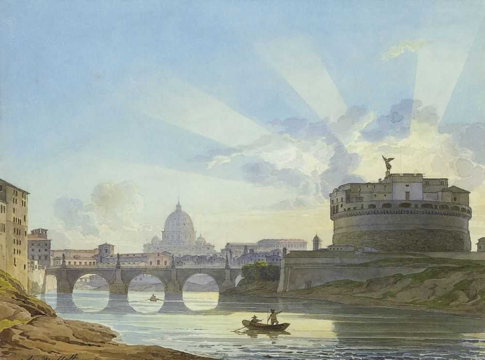 brulloff_alexander_view_the_castle_of_st_angela_in_rome