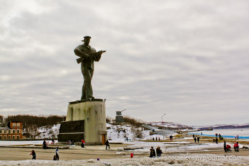 Картинки памятника алеши в североморске