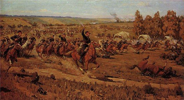рейд казаков Платова в тыл наполеоновской армии р.Зелихман 1959