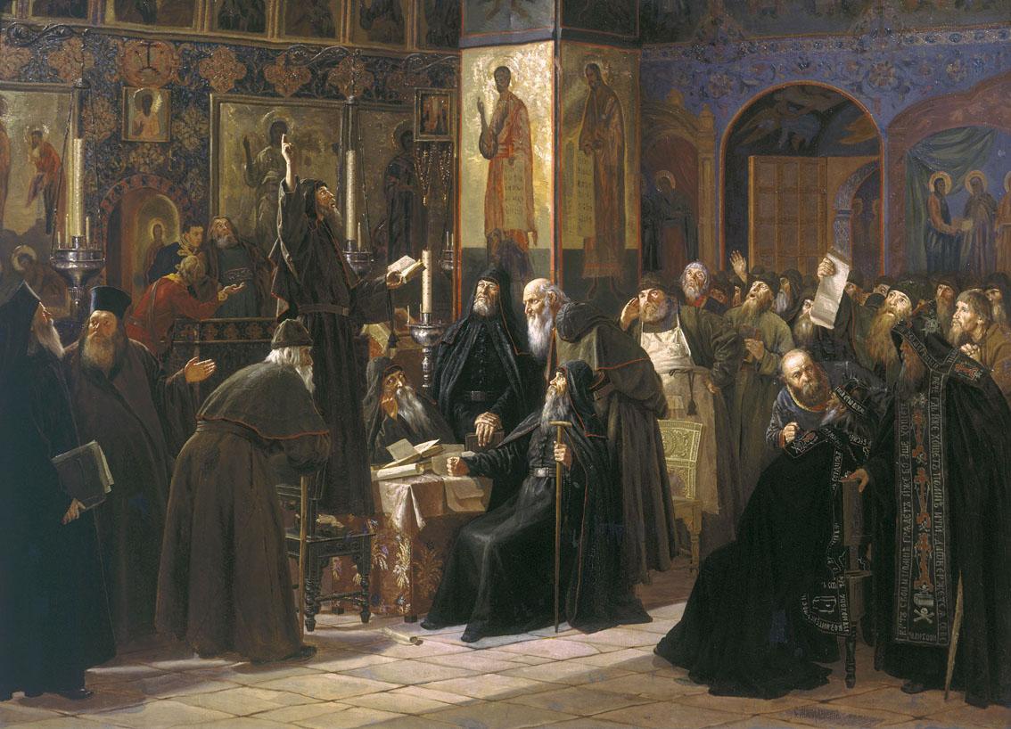 сергей милорадович черный соловецкий собор против новопечатных книг