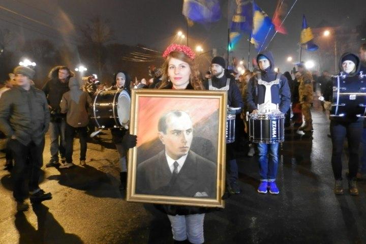 Факельное шествие в Киеве 0