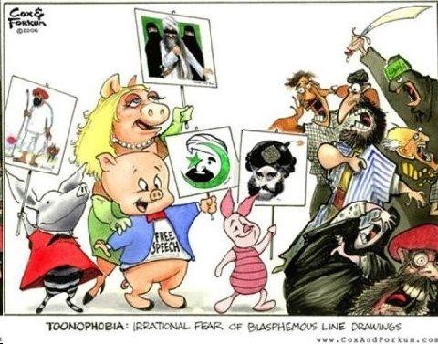 toonophobia