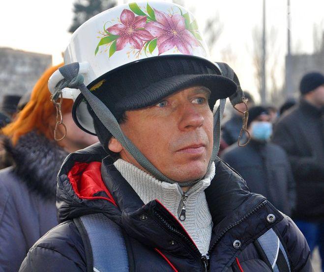 фото майдан кастрюли на голове