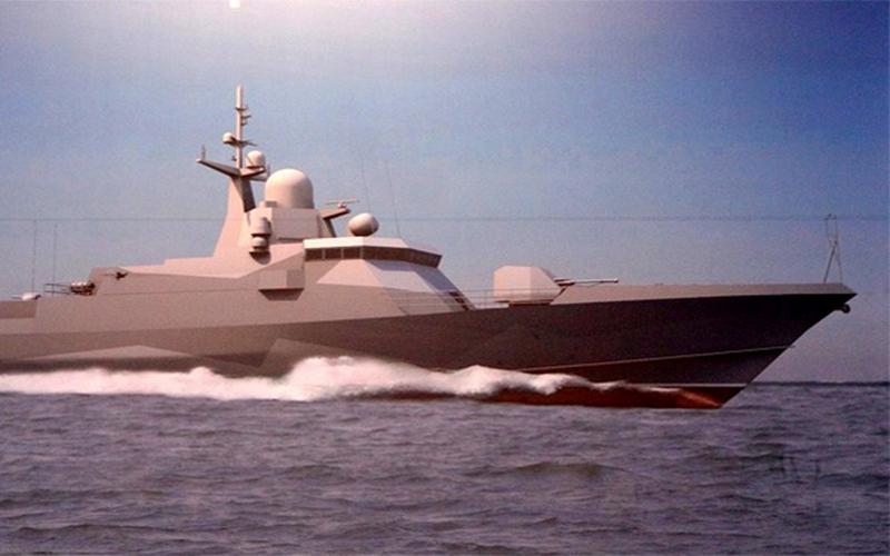 Pequeña nave espacial Storm 22800 del proyecto establecida en Feodosia en la planta de More_1_desarrollodefensaytecnologiabelica.blogspot.com.ar