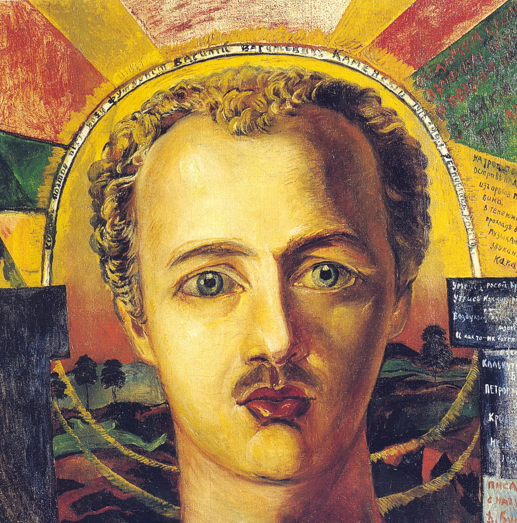 portrait-of-poet-futurist-wassily-kamensky-1917