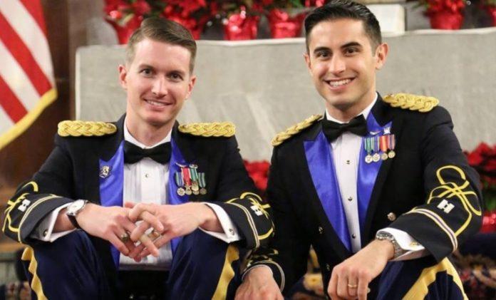 В США зарегистрирован первый брак между военными-гомосексуалистами