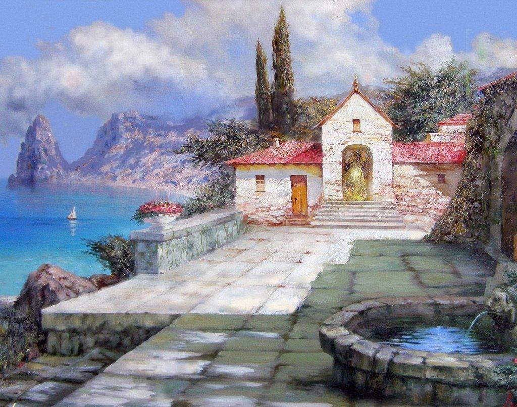 Картинки с крымскими пейзажами