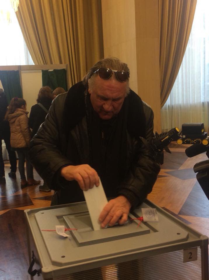Жерар уже проголосовал. А ты ??? dep