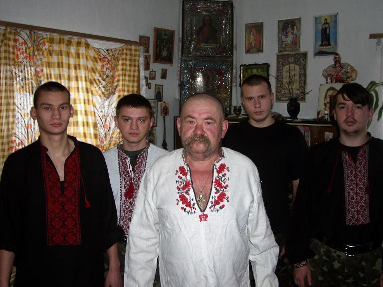 глава определителя типичные западные украинцы фото вместе супругом