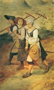 Breugel Haymaking 1565