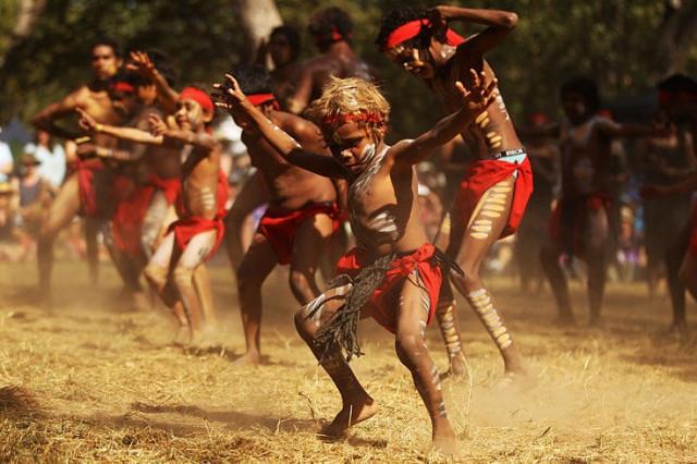 фото австралийские аборигены