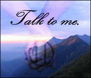 "Banner for my fic ""Talk to me"""