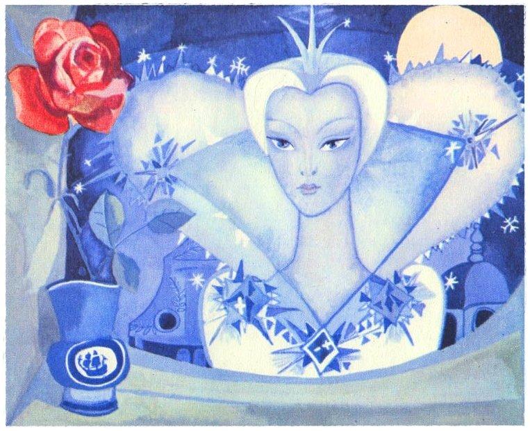 рисунки снежная королева сказка