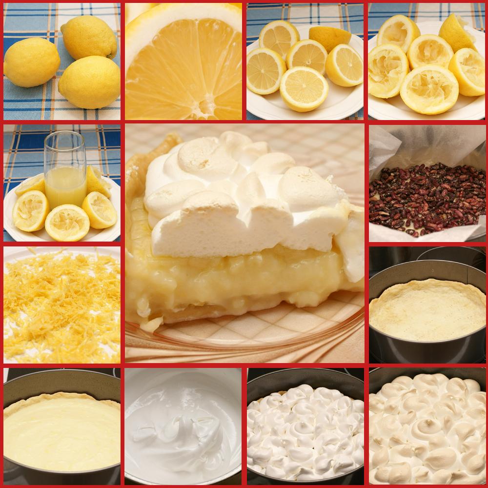 Лимонная меренга